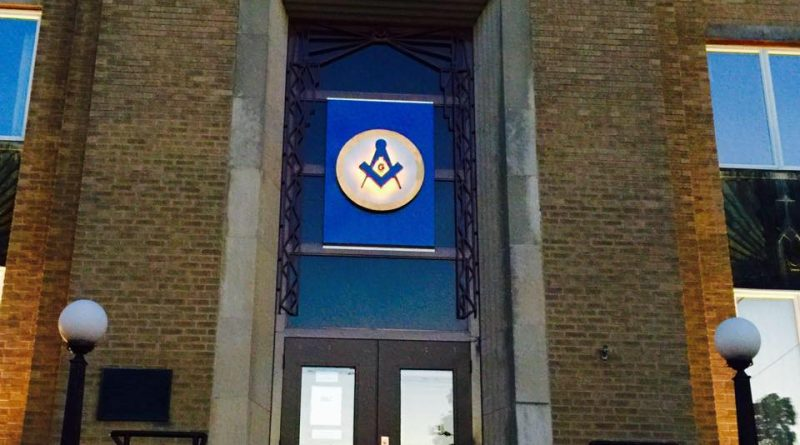 Entrance to Lodge No. 492